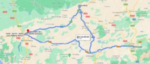 Itinerario Andalusia Base