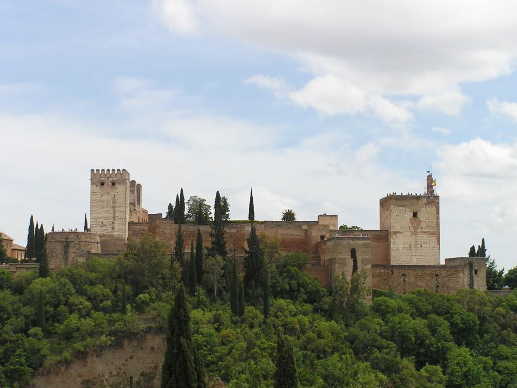 Granada, Alhambra, Mirador de San Nicolás